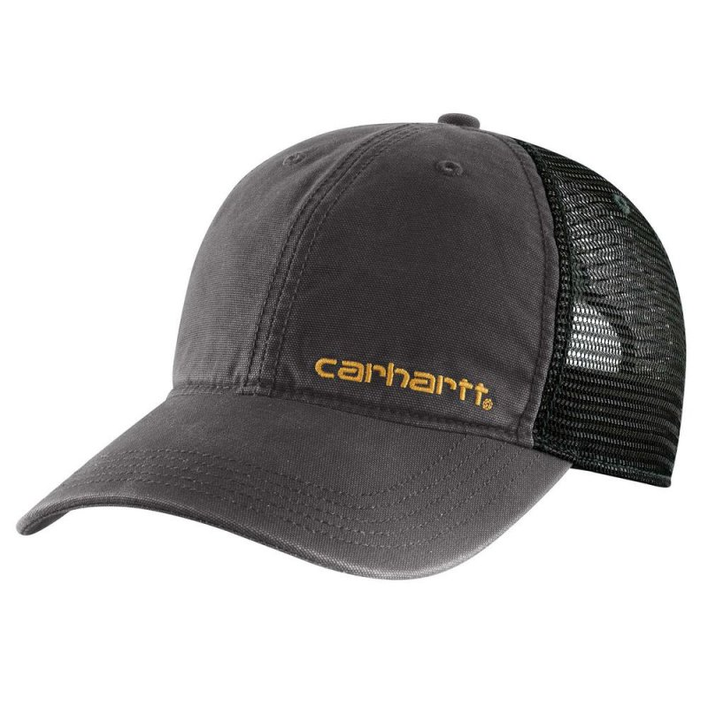 Men's OFA Black Cotton Brandt Cap