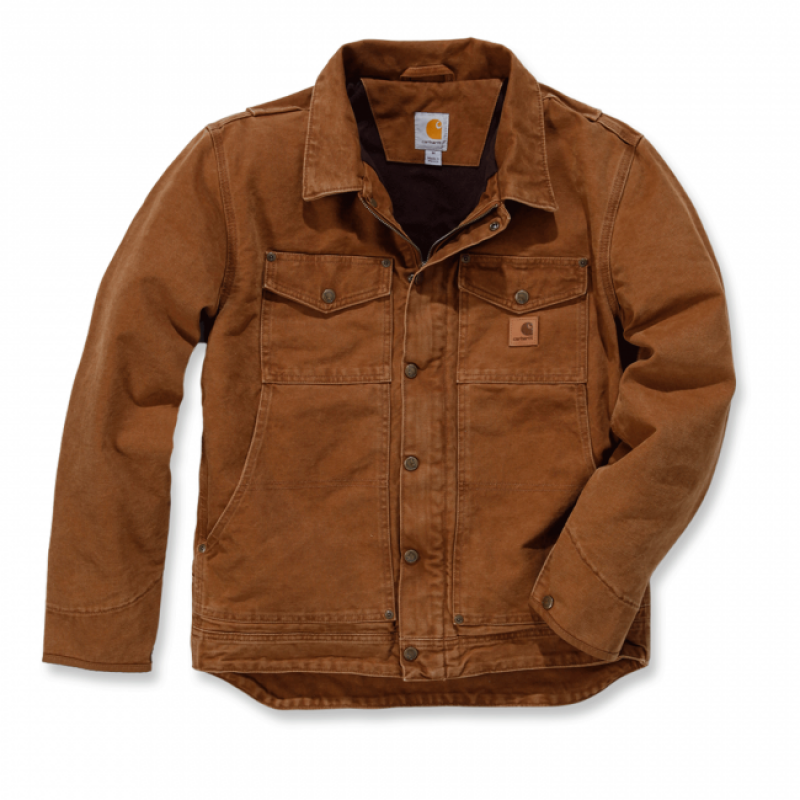 Carhartt brown. Berwick Jacket