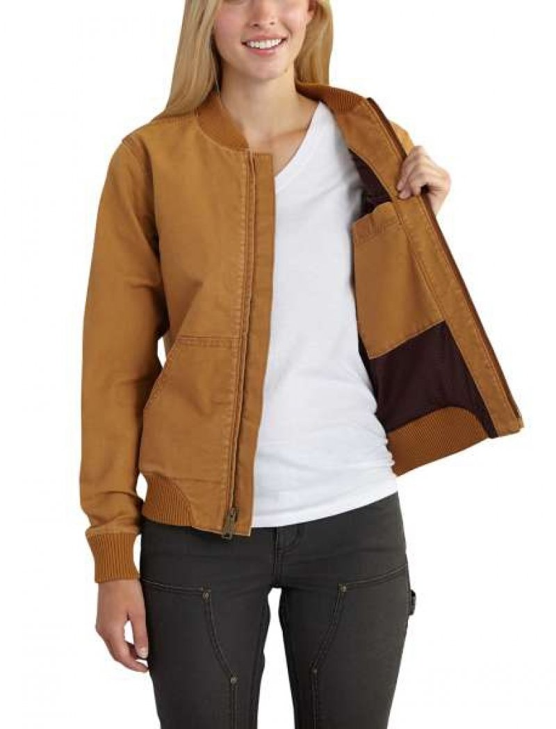 Carhartt - Women's Crawford Bomber Jacket