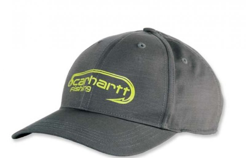 Carhartt FORCE Extremes Fish Hook Logo Cap Grey