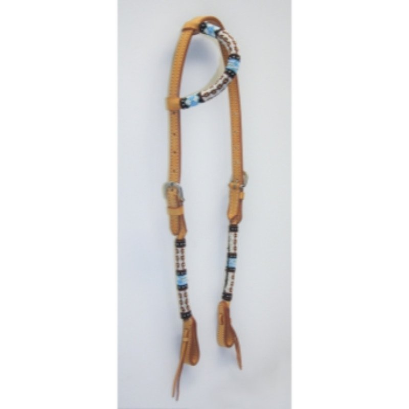 Natural one-ear with beads