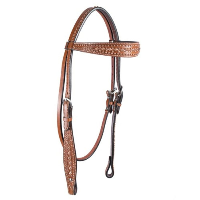 Chestnut Copper Browband Headstall