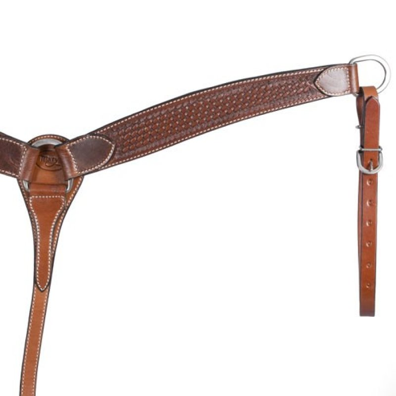 Chestnut Basket Stamped Breast Collar