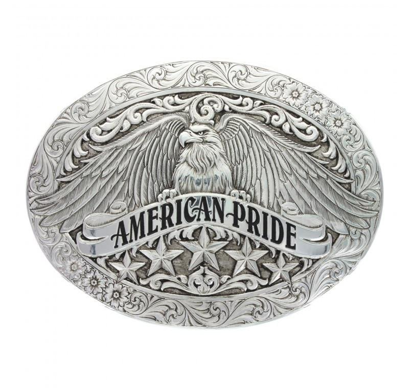 Montana Silversmith Antiqued American Pride Buckle