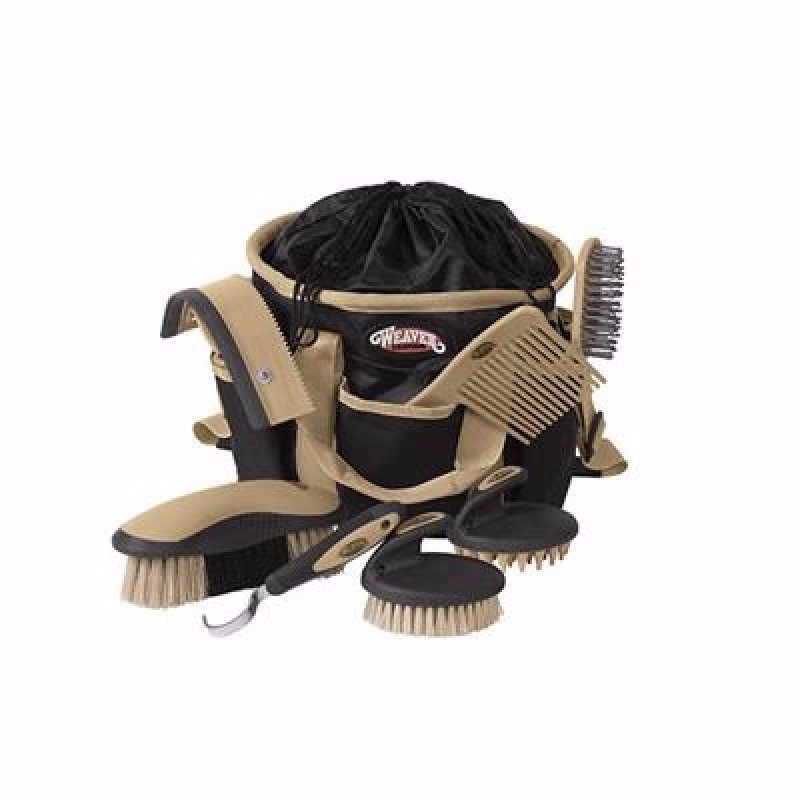 Grooming Kit Black/Tan