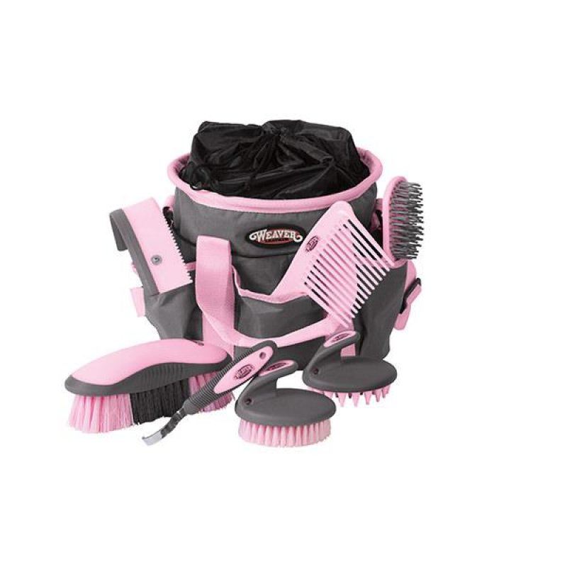 Grooming Kit  Gray/Pink