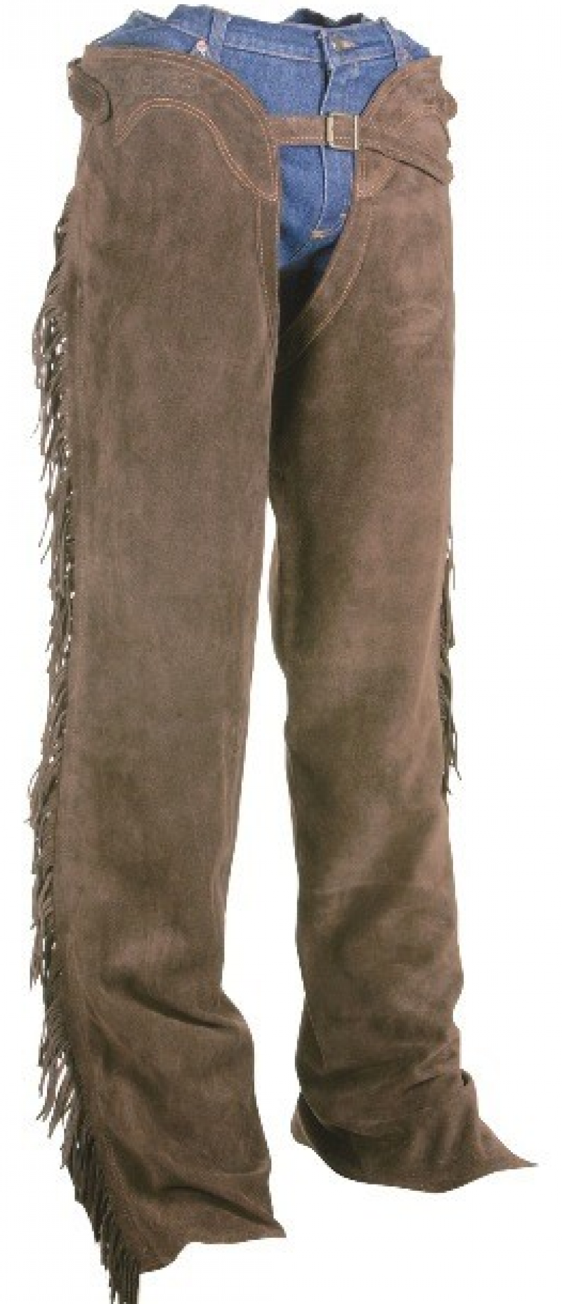 Suede Chaps Brown