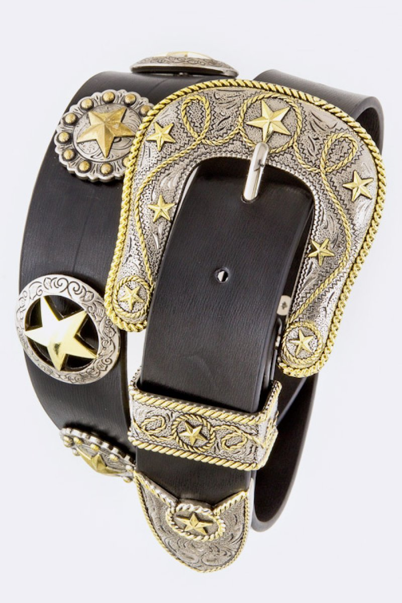 Star Concho Belt