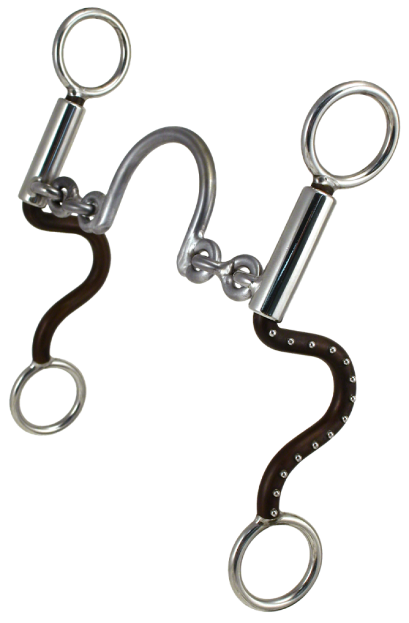 Equine Bit #32 Short S Ported Chain By Tom Balding Horse Tack