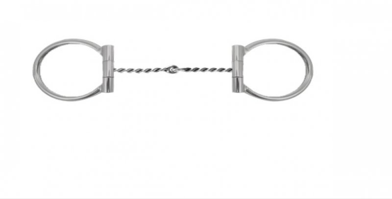 Twisted wire medium Snaffle - Tom Balding