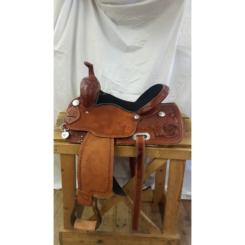 Brazos Barrel Saddle #8