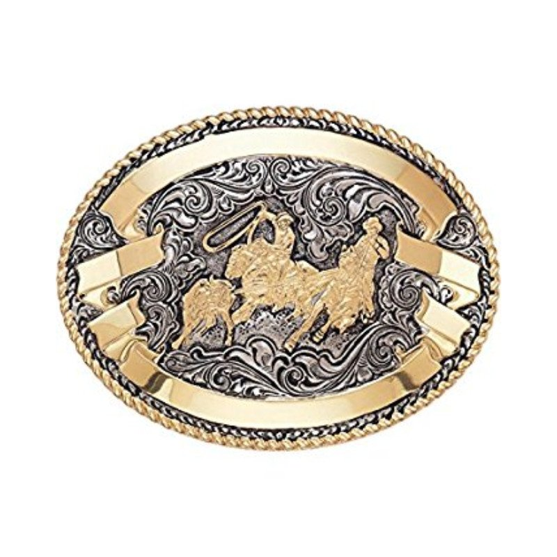 Crumrine buckle- Team Roper