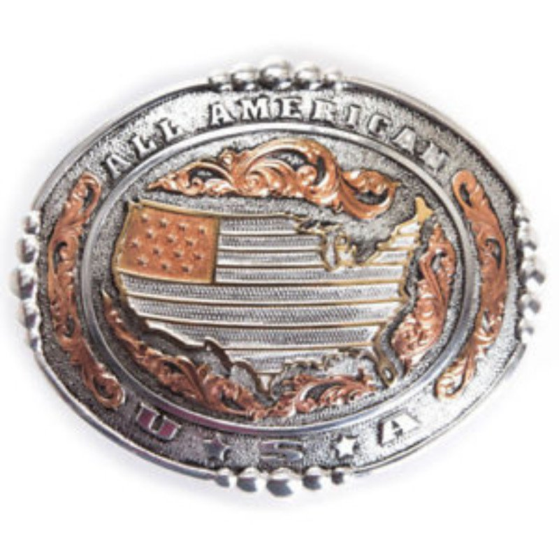 Crumrine buckle- All American
