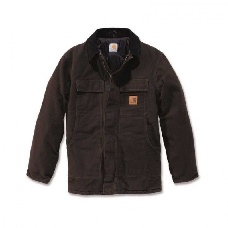 Carhartt Dark Brown Traditional Coat
