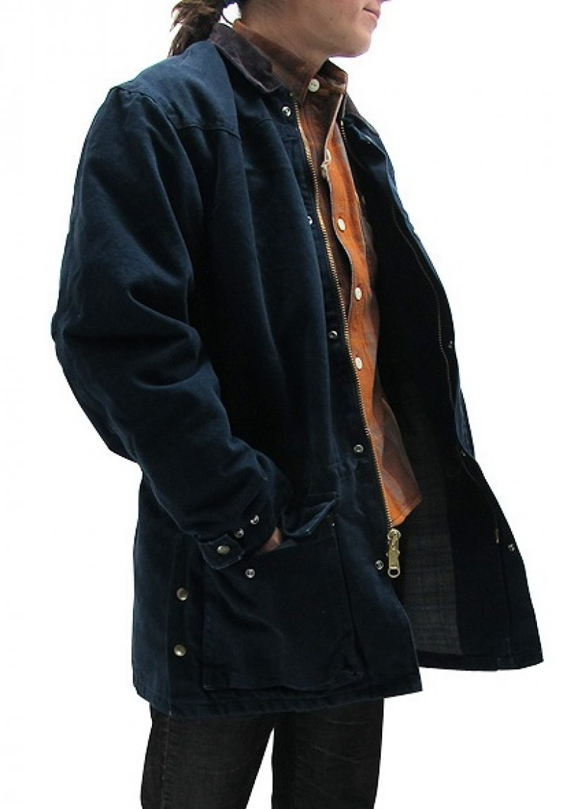 Carhartt dark Blue Ranch Coat