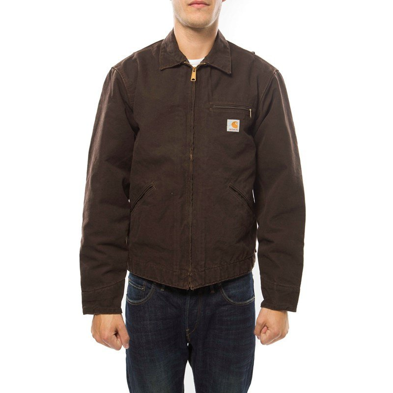Lightweight Detroit Jacket - Dark brown Carhartt