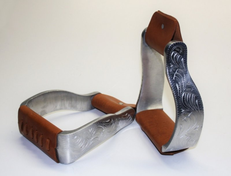 Alu engraved stirrups