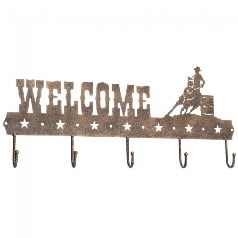 Welcome sign Barrel
