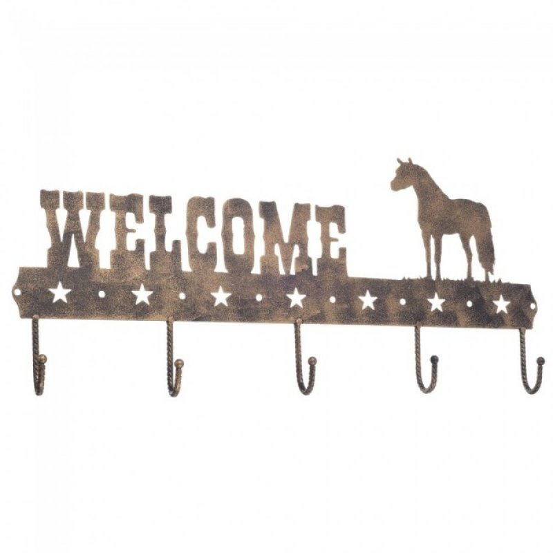 Welcome sign Quarter Horse