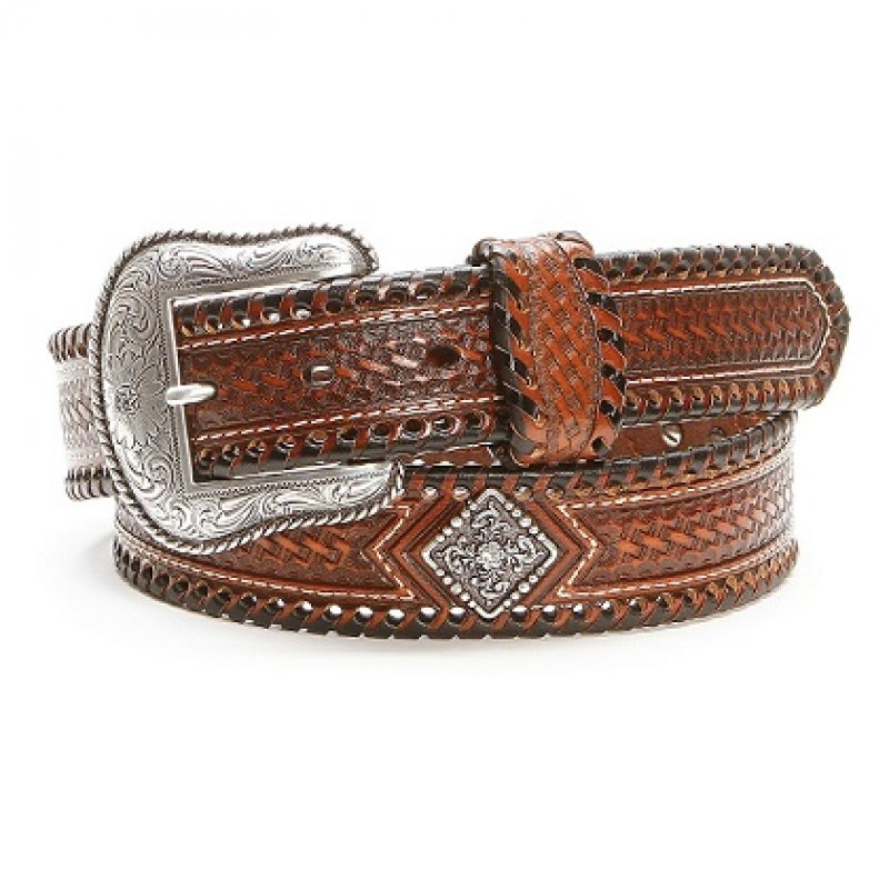 Brown Basket Lacing Belts